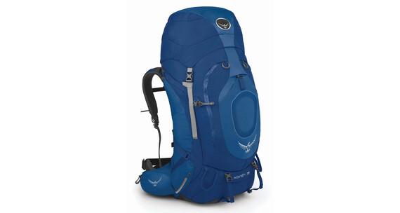 Mochila de trekking Osprey Xenith 75 L azul